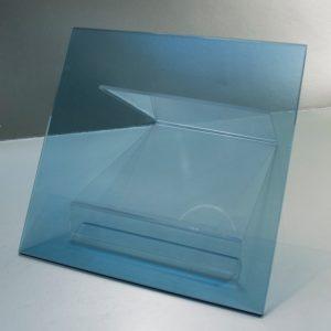 Vidrio Templado Azul Lake, vidrio que ha sido tratado térmicamente hasta obtener una compresión alta en la superficie o el borde.