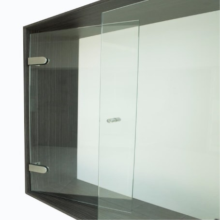 Division de Baño Batiende Basic, es ideal cuando el vano de la ducha es mayor a 85 centímetos, fácil de instalar y diseño moderno.